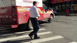 FDNY CHIEF OF THE DEPARTMENT LEONARD TAKING UP FROM THE MAJOR 10-60 CRANE COLLAPSE IN MANHATTAN.