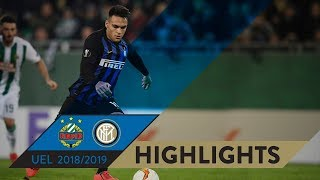 RAPID 0-1 INTER | HIGHLIGHTS | Round of 32 First-Leg | 2018/19 UEFA Europa League