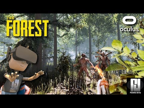 IMPRESSIVE! THE FOREST VR! // Oculus + Touch // GTX 1060 (6GB)