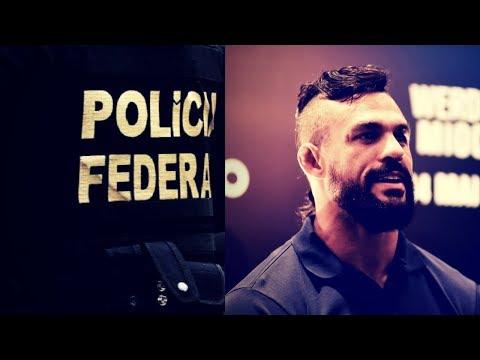 Lutador do UFC Vitor Belfort deixou um Recado à Polícia Federal
