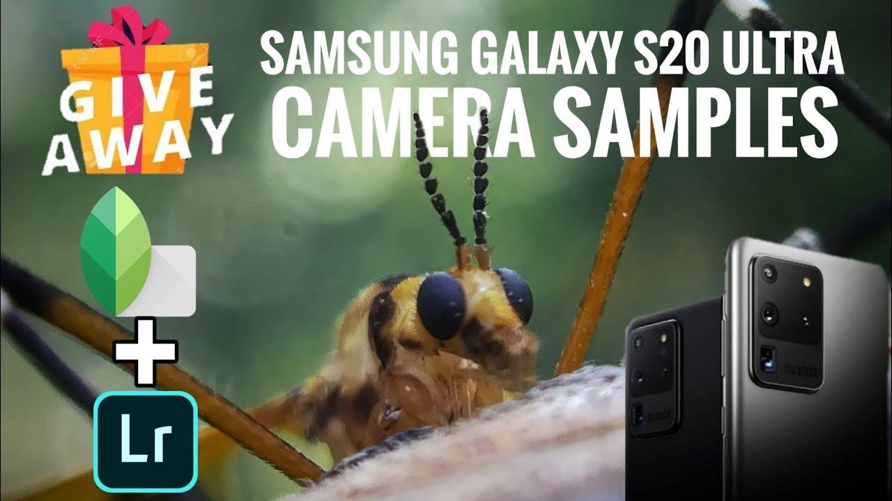 Samsung Galaxy s20 Ultra Camera Samples,Editing and Giveaway 🎁