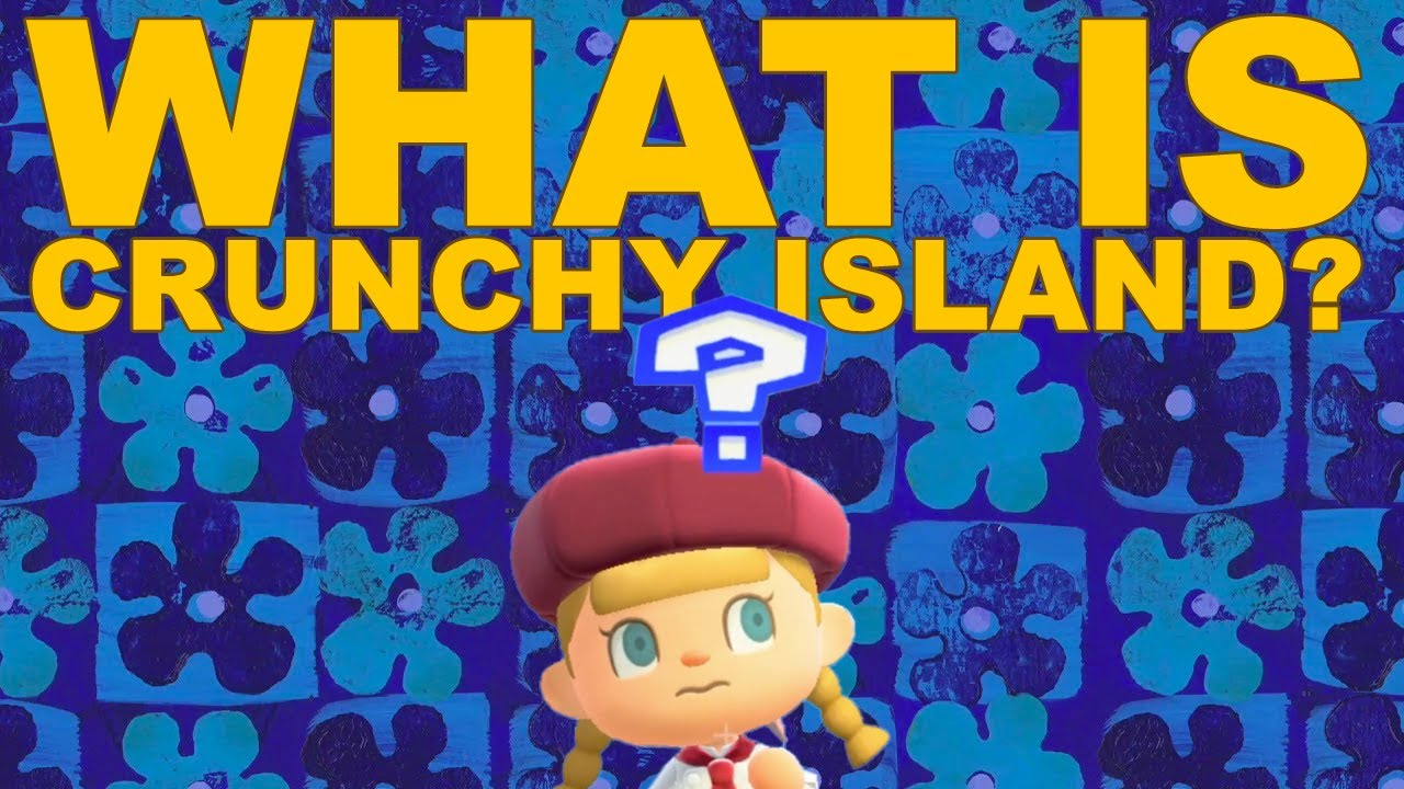 """""""The Most Exciting thing in Animal Crossing Right Now"""" (Crunchy Island Channel Trailer)"""