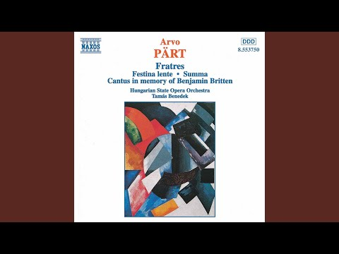 Fratres for Eight Cellos