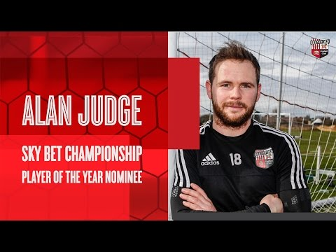 Alan Judge: 2016 SkyBet Championship Player of the Year Nominee