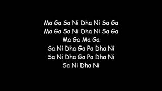 Mere dholna Karaoke