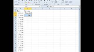 excel fill formula into every other row
