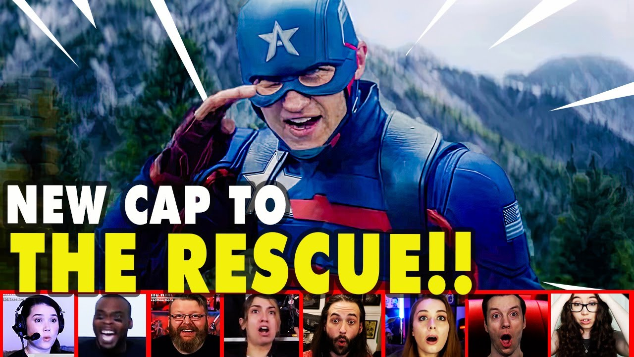 Reaction To The New Captain America In ACTION On Falcon & Winter Soldier Episode 2 | Mixed Reactions