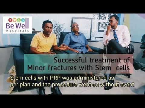 Stem Cells Therapy patient sharing experience with dr santhosh jacob orthopedic surgeon