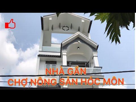 Bán Nhà gần chợ Nông Sản Hóc Môn 5x20m gần Ngã Tư Trung Chánh