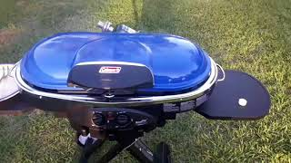 COLEMAN LXE ROAD TRIP GRILL REVIEW AND TEST