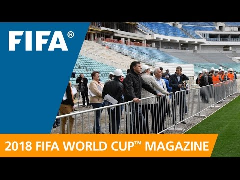 Russia 2018 Magazine: Cool changes to Sochi's Stadium