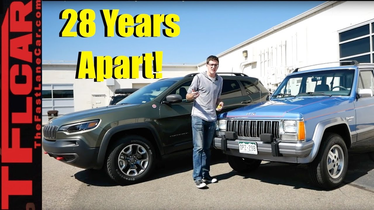 Jeep Cherokee Vs Grand Cherokee >> Old Vs New Jeep Cherokee Shootout What S Best High Tech Or Proven Heritage