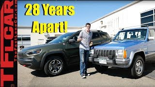 Old vs New Jeep Cherokee Shootout: What