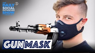 Gun Masks: The Only Mask That's Also a Gun | The Daily Show