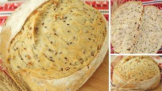 ПШЕНИЧНЫЙ ХЛЕБ на опаре пулиш Вкус как на ЗАКВАСКЕ Рецепт из Instagram Вкусные Заметки о Хлебе