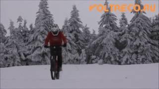 Электровелосипед и Зимний Лес!(пишете ваши комментарии очень буду ждать и если не сложно лайкните сылка на оф сайт где можно приобрести..., 2016-12-06T22:19:27.000Z)