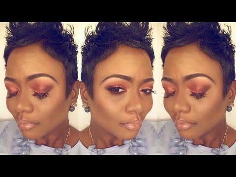 Makeup Fun: Huda Beauty Desert Dusk Palette | Copper Gold Eye Look