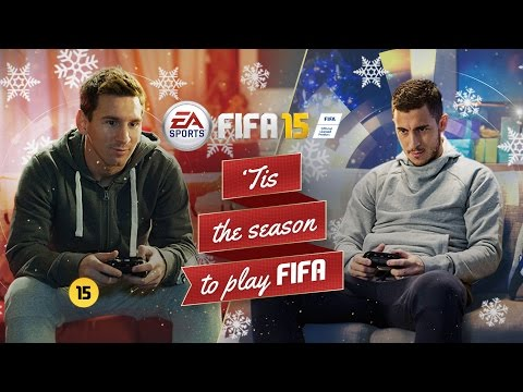 FIFA 15 - Christmas Commercial - Messi vs Hazard