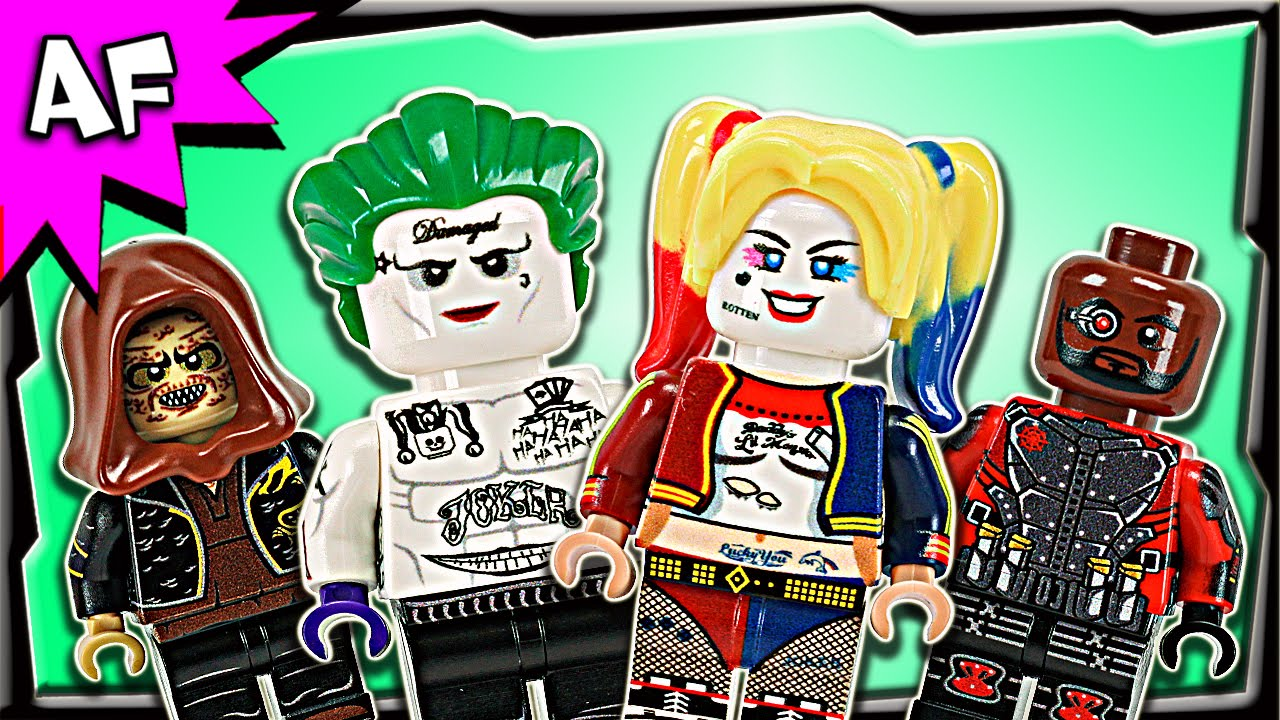 Lego Fit Harley Quinn Minifigure Marvel and DC Comics Suicide Squad