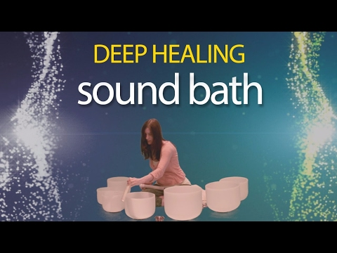 Sound Healing with Crystal Bowls - Sound Bath by Michelle Berc