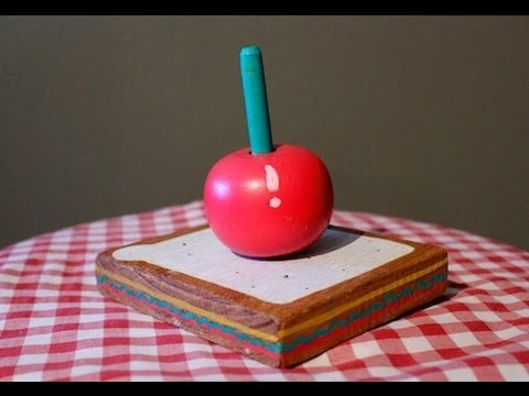 DIY Wood Play Food