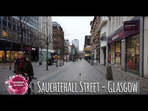 Walking In Glasgow, Sauchiehall Street, Buchanan Street, Argyle Street, St Enoch Square, Trongate