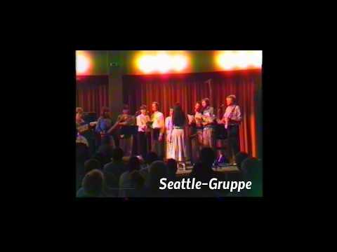 Abi-Konzert Seattle-Gruppe 1986 Musik Chor Cusanus-Gymnasium Erkelenz (Kurzimpression)