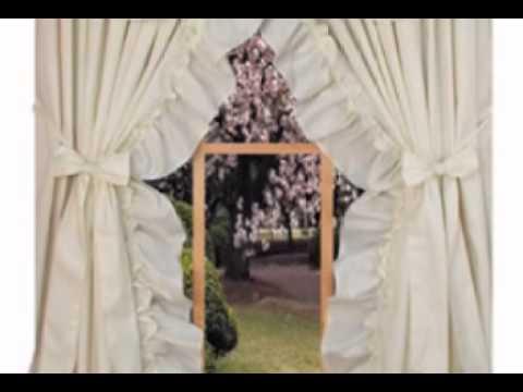 Stephanie Ruffled Curtains
