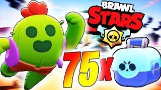 SPIKE IN BRAWL BOX - AM TOTI BRAWLERII LEGENDARI - 75 X BRAWL BOX - BRAWL STARS!