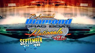 September 1st-3rd, 2017-7th Annual Diamond Drag Boat Nationals