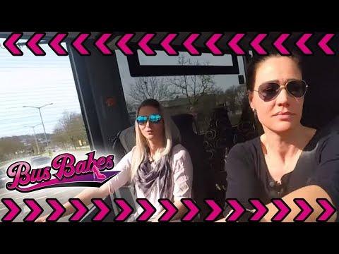 Bus Fahrschule der Extraklasse: PS-Professorin Nadine gibt Fahrstunden | Bus Babes | kabel eins