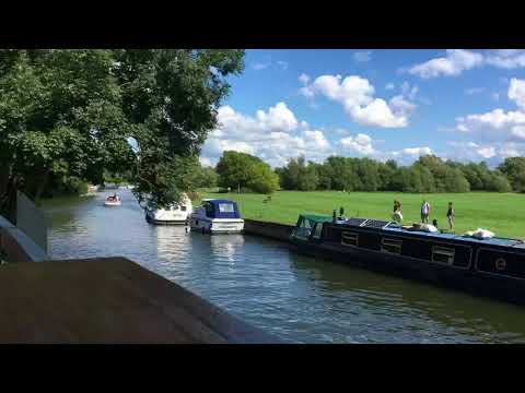 Abingdon on Thames - Riverside Time lapse 15/08/17 pt2