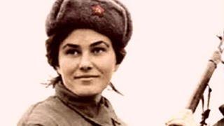 Лучшие Советские ЖЕНЩИНЫ снайперы Великой Отечественной войны