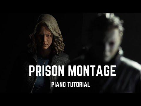 Halloween - Prison Montage (Piano Tutorial)