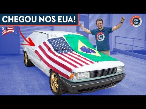 O GOL GLR CHEGOU NOS EUA!