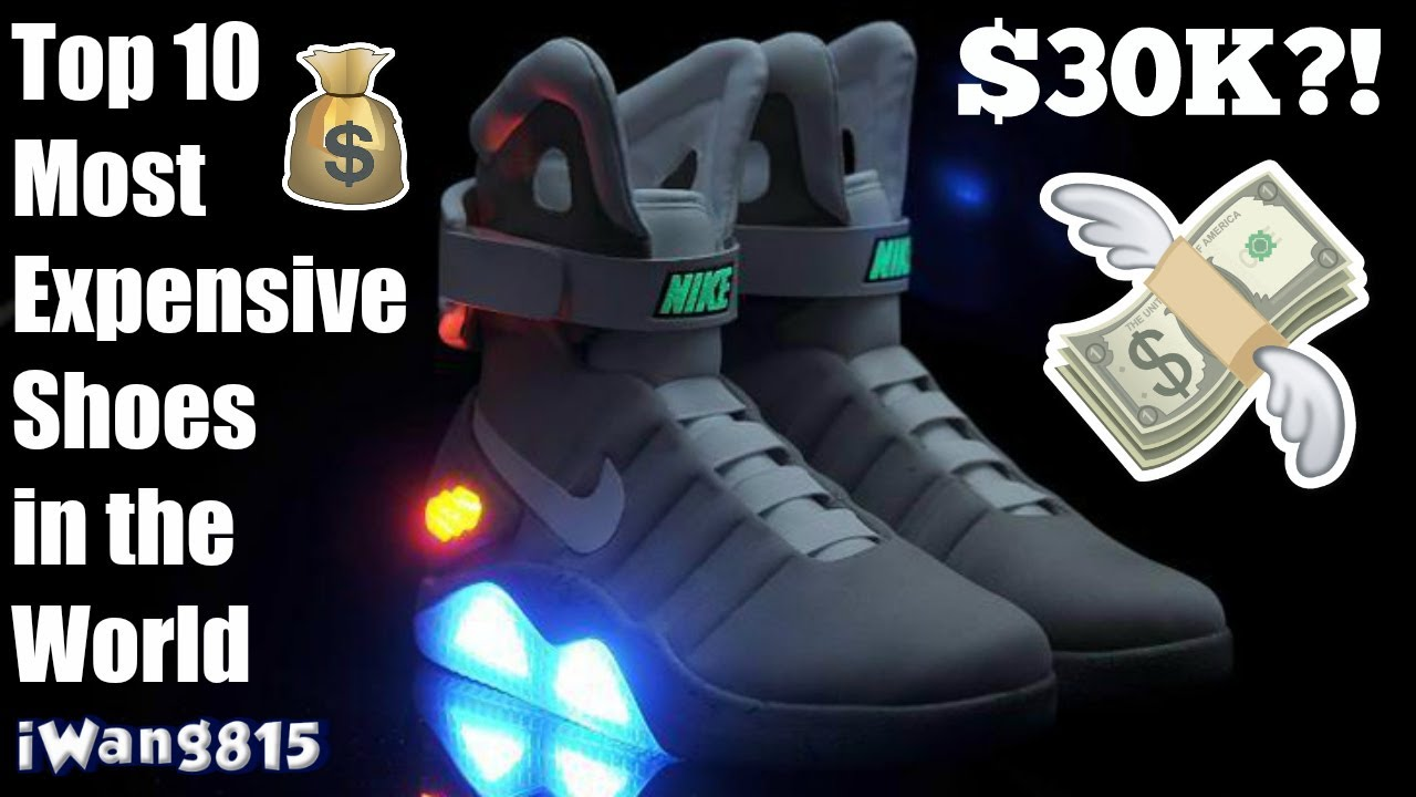 a8a9c39eab7751 Top 10 Most Expensive Sneakers of All Time