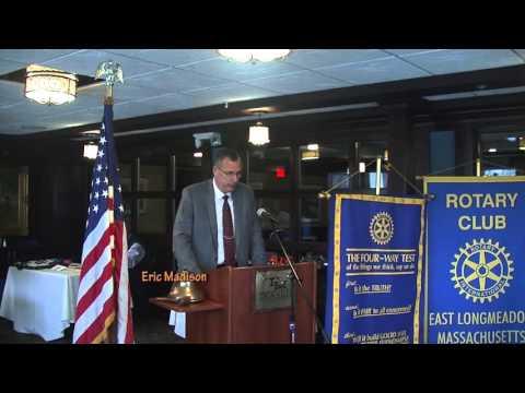 Rotary Club Speakers: Eric Madison