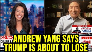 Andrew Yang: Donald Trump is Set to Lose the Election