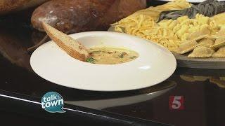 Grilled Chicken Florentine Soup