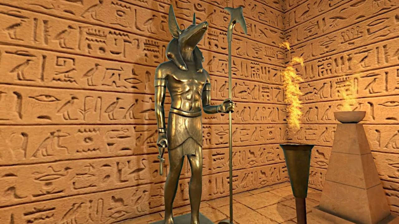 Ancient Egyptian Modular Tombs (Unity3D) - YouTube