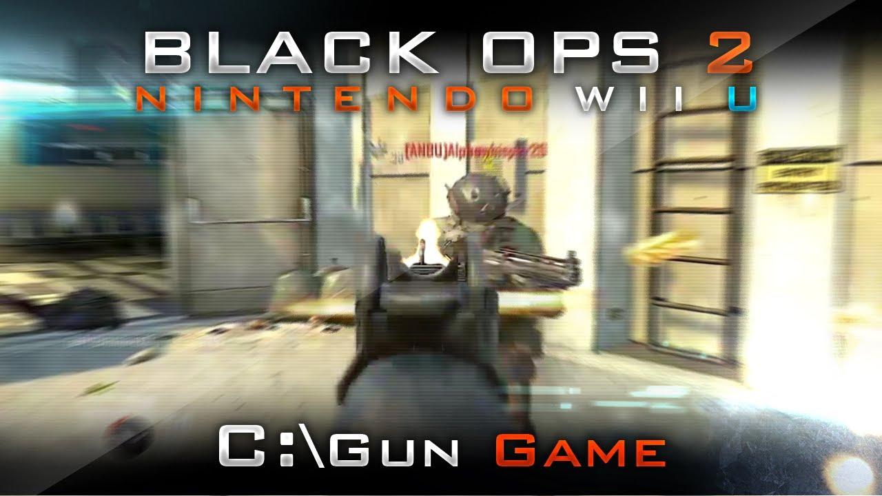 Black Ops 2 Wii U Gameplay - Wii Remote - Online ...