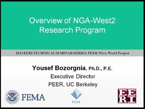 1 - NGA West 2 (2013) - Overview Research Program