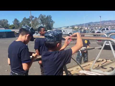 United States Naval Sea Cadet Corps Region 12  Seamanship Challenge 2016