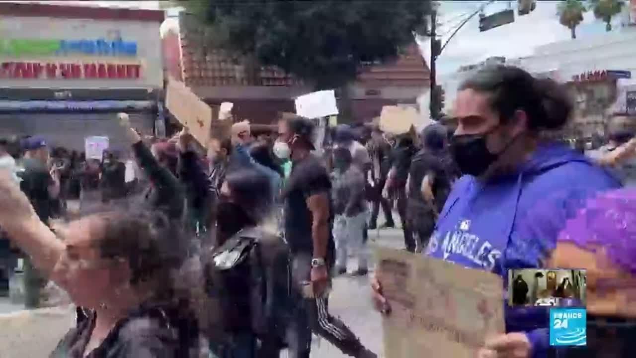 Mort de George Floyd : nouvelles manifestations aux États-Unis malgré les couvres-feux