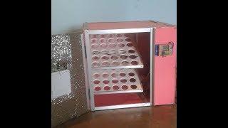 60 eggs auto incubator