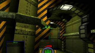 Descent 3 Mercenary Level 3 Insane Part 1 (Cold Start)