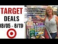 Target In-Store Couponing (8/05-8/11) Tons of Ibotta Cash Back Deals!