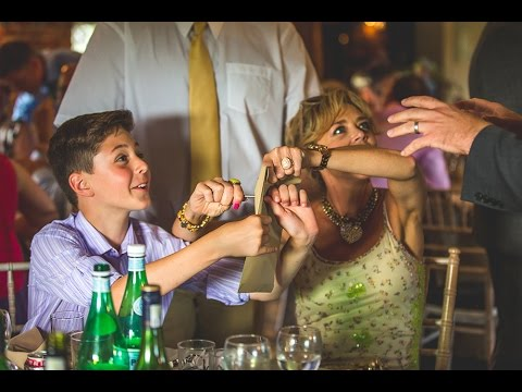Wedding Magician Hampshire - Sopley Mill:  Roger Lapin