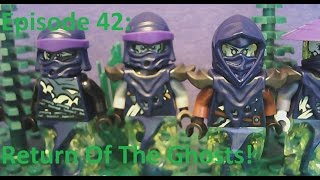 LEGO Ninjago Time Of The Cursed Episode 42-Return Of The Ghosts!