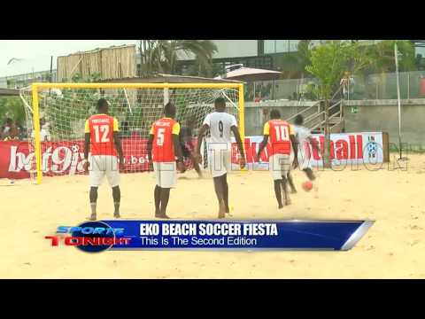 Stationery Stores Take On Free Stand FC As Second Edition Beach Soccer Holds In Lagos